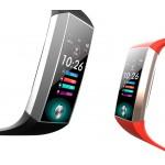 Фитнес браслет HerzBand Lite ECG 2 с измерением давления, ЭКГ, кислорода в крови