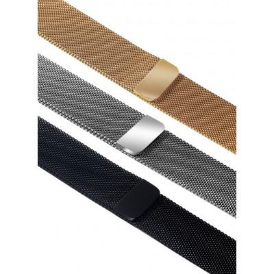 Ремешок стальной магнитный для фитнес-браслетов HerzBand