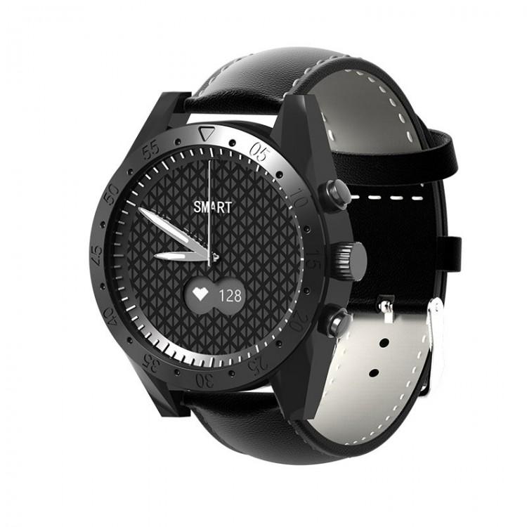 Новые кварцевые часы HerzBand Hybrid V1 с максимальной защитой от воды и функциями фитнес браслета с измерением давления, пульса и кислорода в крови.