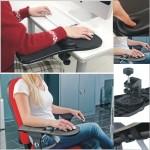 Подлокотник для компьютерного стола или кресла