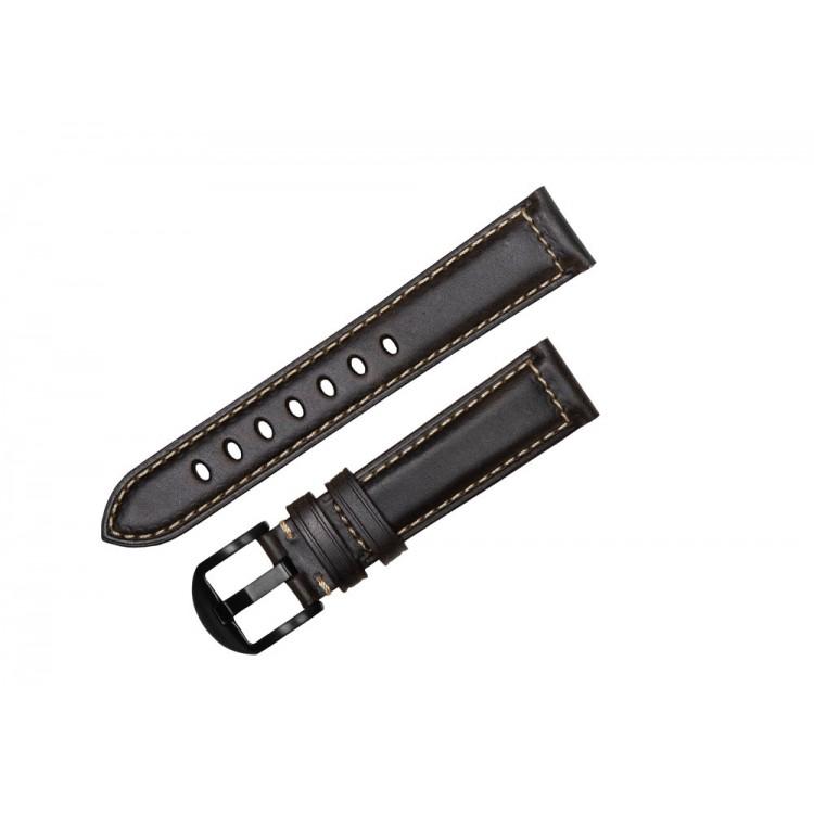 Ремешок кожаный 20мм для фитнес-браслетов HerzBand